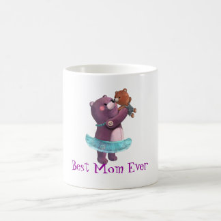 Teddy Bear Mother Coffee Mug