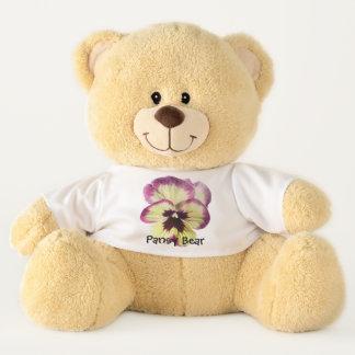 Teddy Bear - Pansy Bear - Burgundy Blotch Pansy