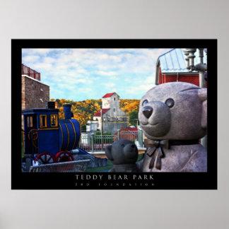 Teddy Bear Park Poster