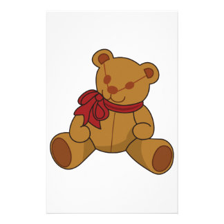 Teddy Bear Personalized Stationery