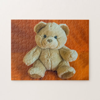 Teddy bear photo puzzle