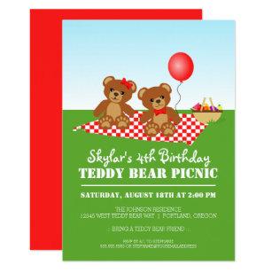 picnic birthday invitations zazzle com au