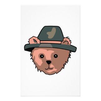 TEDDY BEAR PILGRIM CUSTOMIZED STATIONERY