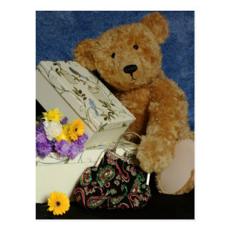 Teddy Bear Post Card from Moonlake Designs