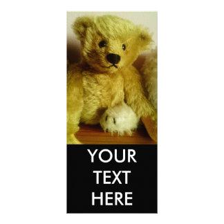Teddy Bear Full Color Rack Card