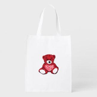 Teddy Bear Reusable Bag