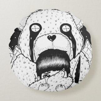 Teddy Bear Round Cushion
