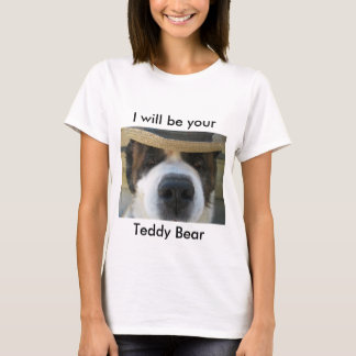 Teddy Bear Saint Bernard T-Shirt