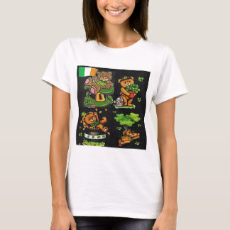 Teddy Bear St. Patrick's Day Collection T-Shirt