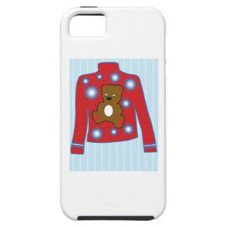 Teddy Bear Sweater iPhone 5 Cases