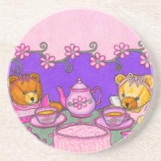 Teddy Bear Tea Party Coaster