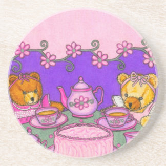 Teddy Bear Tea Party Coaster