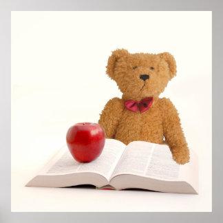 Teddy bear teacher poster