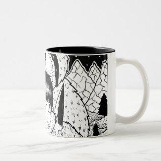 Teddy Bear Two-Tone Coffee Mug