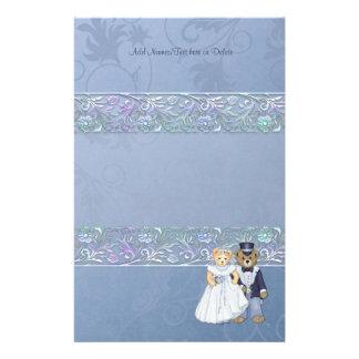 Teddy Bear Wedding - Customize Stationery Design