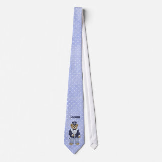 Teddy Bear Wedding - Customize Tie