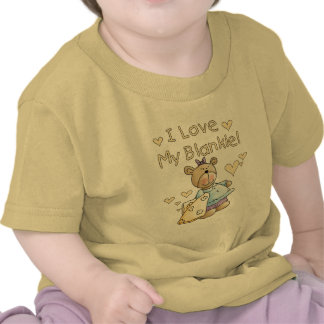 Teddy Bear With Blanket Tshirts and Gifts