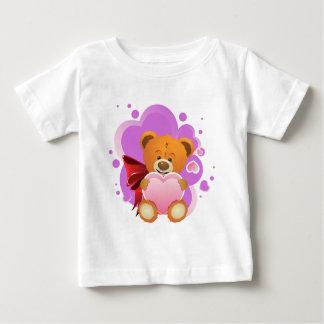 Teddy Bear with Heart 2 Baby T-Shirt