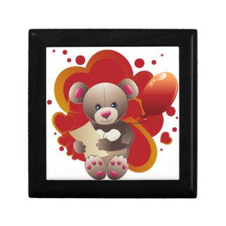 Teddy Bear with Heart 3 Gift Box