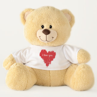 Teddy Bear with Heart Tshirt