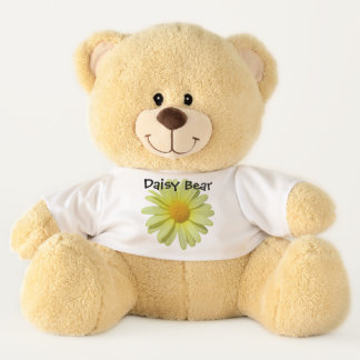 Teddy Bear - Yellow Daisy