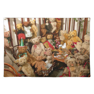 Teddy Bears Collectors Paradise Placemat