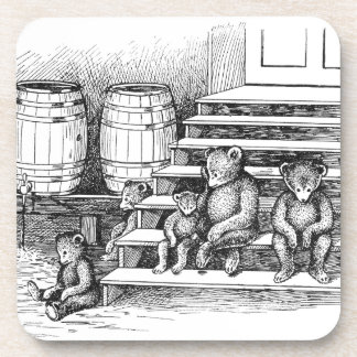 Teddy Bears Have Drunk Too Much Cider Drink Coaster