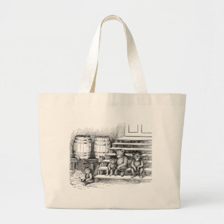 Teddy Bears Have Drunk Too Much Cider Jumbo Tote Bag