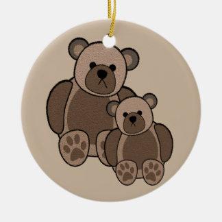 Teddy Bears Ornament (double sided)