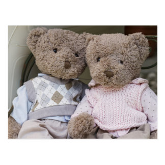 teddy bears postcard