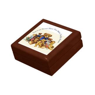 Teddy Bears TILE GIFT KEEPSAKE BOX Jewelry