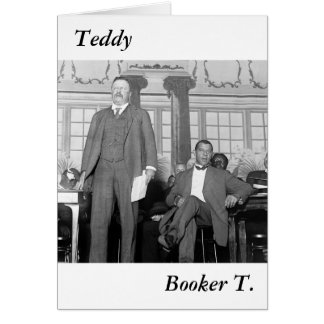 Teddy & Booker T., early 1900s Card