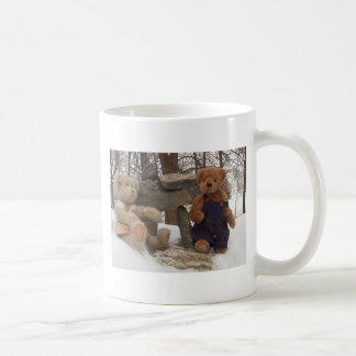 Teddy Couple with Inuksuk Coffee Mug