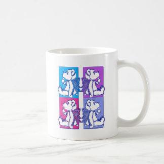 Teddy Foursome Basic White Mug