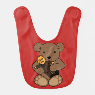 Teddy Love Bib