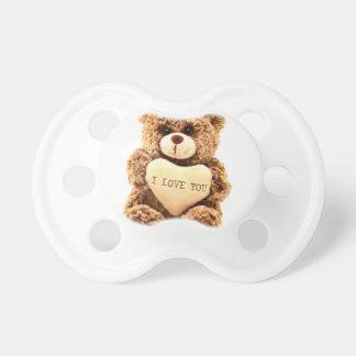 Teddy Love Valentine's Day Greeting Card Soft Toy Dummy