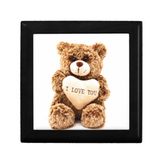 Teddy Love Valentine's Day Greeting Card Soft Toy Gift Box