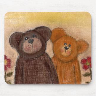 Teddy n Friend Mouse Pad