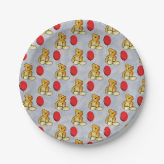 Teddy Paper Plate