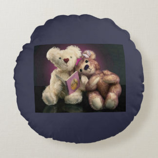Teddy pilow round cushion