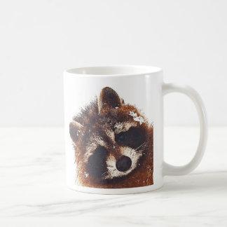 Teddy Raccoon Coffee X 2 Coffee Mug