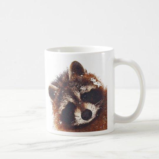Teddy Racoon Coffee X 2 Coffee Mug