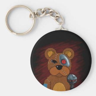 Teddy robot key ring