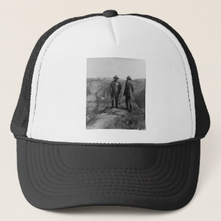Teddy Roosevelt and John Muir  in Yosemite Trucker Hat