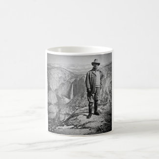 Teddy Roosevelt Glacier Point Yosemite Valley CA Coffee Mug