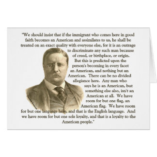 Teddy Roosevelt Quote Card