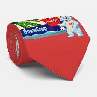 Teddy Snow Crop and Snow Crop vegetables box Tie