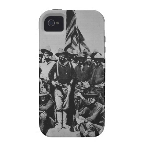 Teddy's Colts Teddy Roosevelt Rough Riders 1898 iPhone 4 Covers