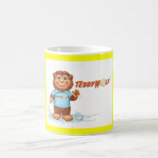 "TeddyWolf  ""Hello"" mug"