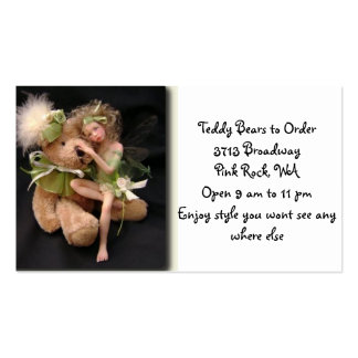 Tedy Bears to Order Business Card Templates